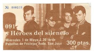 Heroes del silencio y 091