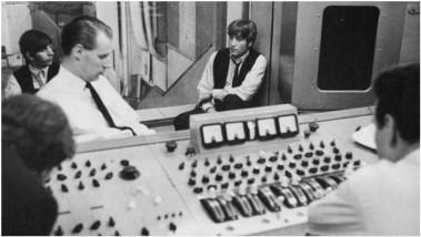 Mesa de mezclas Beatles